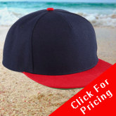 Click here forpricing - Adult Snapback Baseball Caps
