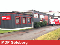 Exterior View Of MDP Göteborg Branch