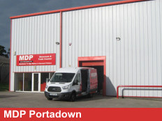 Exterior View Of MDP Portadown Branch