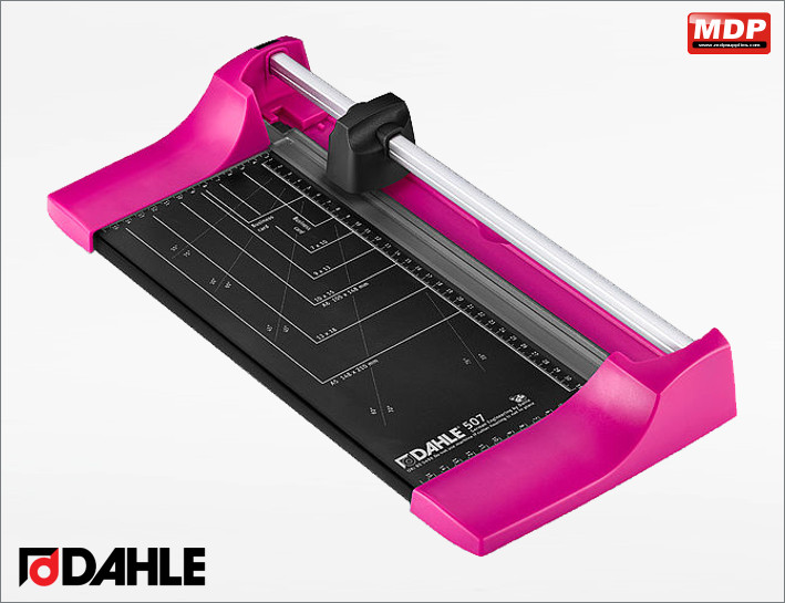 Dahle 507 Trimmer - A4 Pink