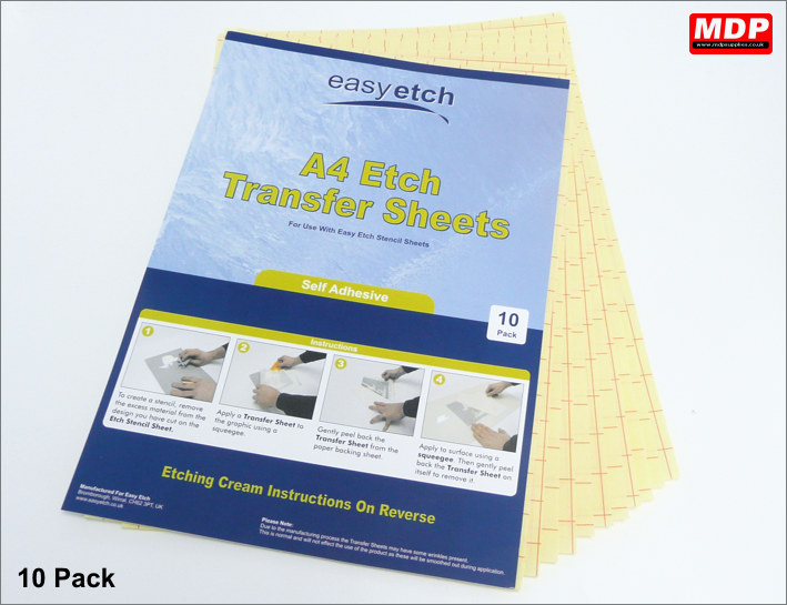 A4 Transfer Sheets - 10 Pack