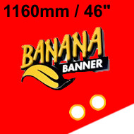 Red Banner 46 inch