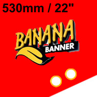 Red Banner 22 inch