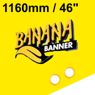 Yellow Banner 46 inch