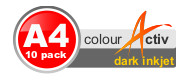Colour Activ Dark Inkjet A4