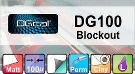 DG 100 Blockout 1370mm