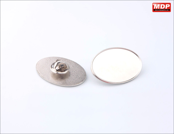 Oval 23x32mm - Silver