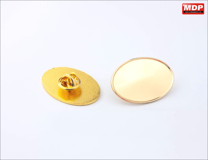 Oval 23x32mm - Gold