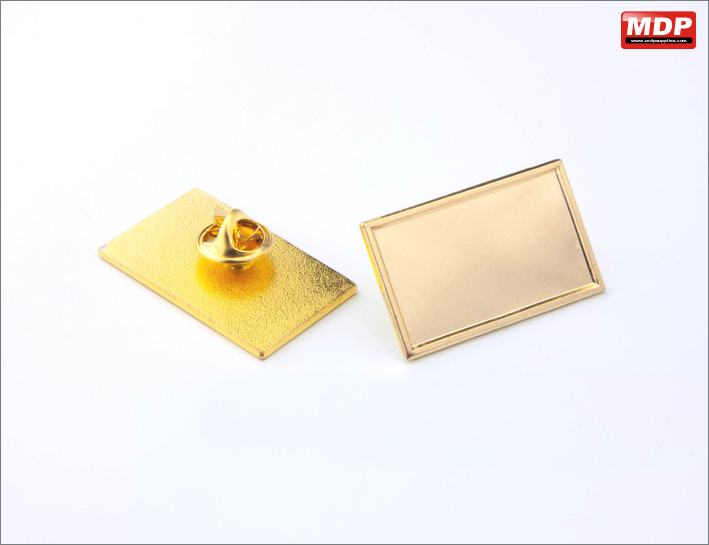 Rectangle 33x20mm - Gold