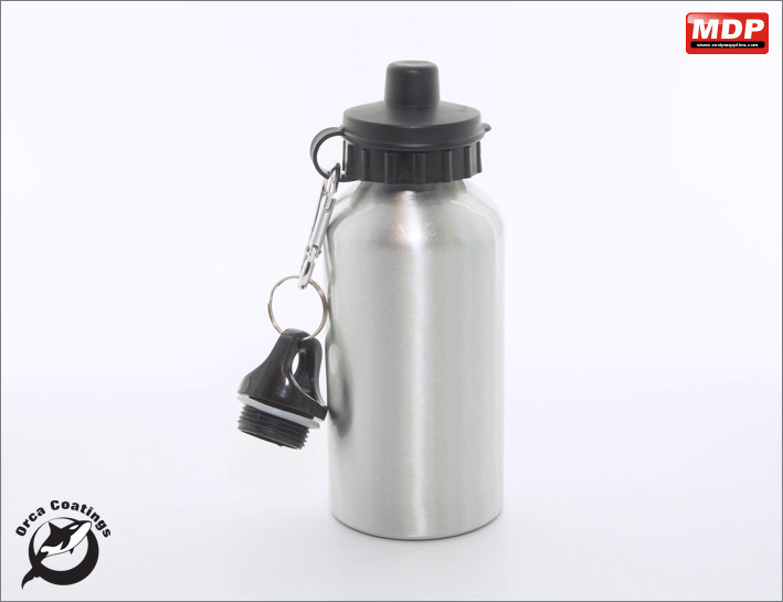 Water Bottle Aluminium 400ml - Single