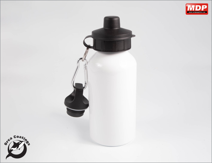Water Bottle White 400ml - Single