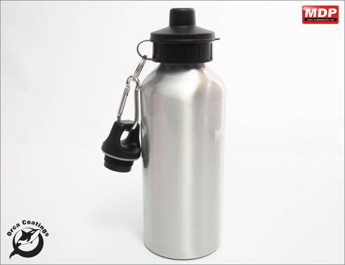 Water Bottle Aluminium 600ml - Single