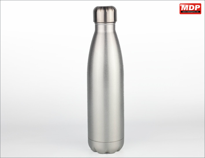 500ml Tapered Glitter Silver