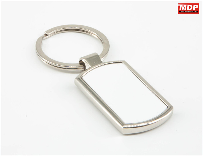 Keyring - Curved Rectangle