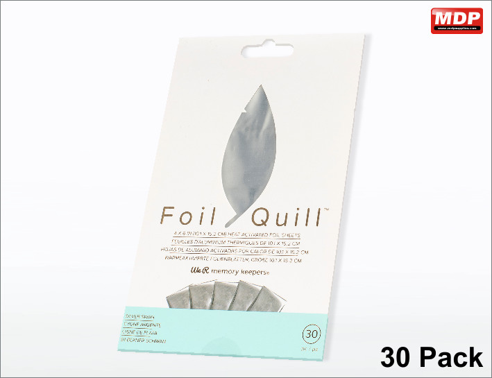 Foil Quill Foil - Silver Swan