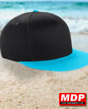 Snapback Cap Youth Black / Ocean