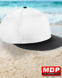 Snapback Cap Youth White / Black