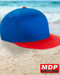 Snapback Cap Youth Blue / Red