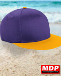 Snapback Cap Youth Purple / Gold