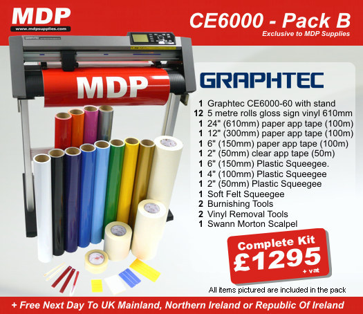 Graphtec CE6000-60 Pack B bundle