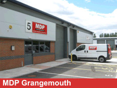 Exterior View Of MDP Grangemouth Branch