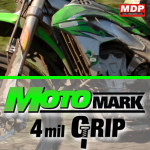 MotoMARK 235 GRIP Matt White Digital Vinyl