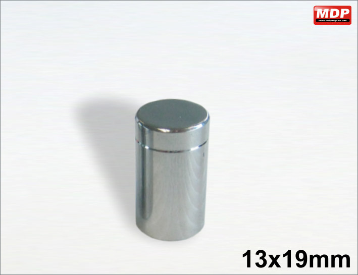 13x19mm Chrome