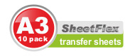 Transfer Sheets (10 Pack A3)