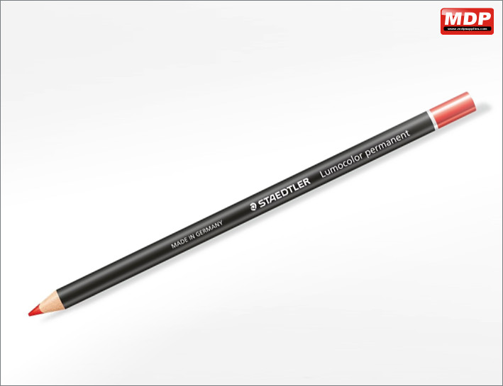 Staedtler Permanent Red Pencil