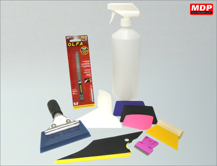 Window Tinting Starter Tool Kit