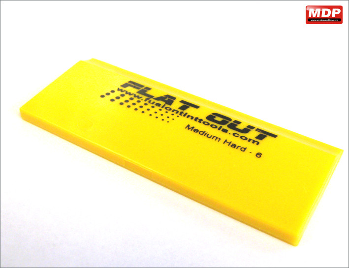 Yellow Straight Squeegee Blade 122mm