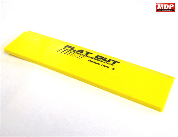 Yellow Straight Squeegee Blade 200mm